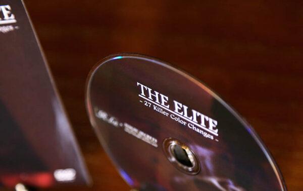 驚愕のカラー・チェンジ・マジック傑作集「THE ELITE -27 Killer Color Changes-」